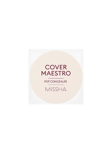 Missha Cover Maestro Pot Concealer (No.21/Piano) Ten